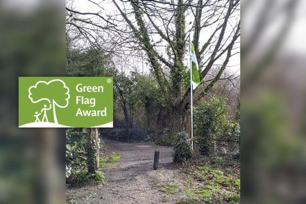 Play Lane MIllennium Green Wins Green Flag Award